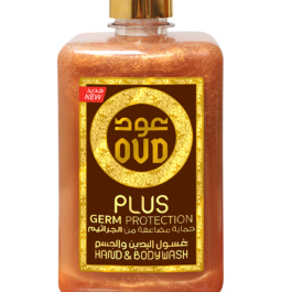 500ml Germ Protection oud hand & body wash