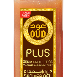 Germ protection oud shower gel