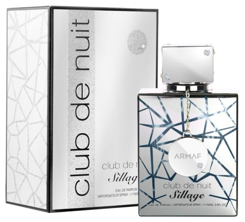 Club De Nuit Sillage by Armaf is a Floral Woody Musk fragrance for women and men.